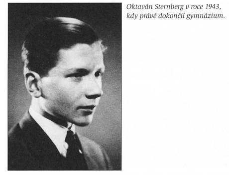 Zdeněk Sternberg coby maturant