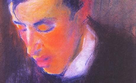 Dějiny nové moderny: Josef Čapek - Hlava Karla Čapka (1907, ze sbírek Západočeské galerie v Plzni)