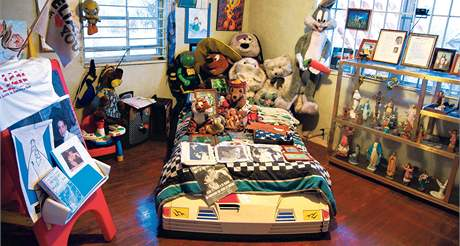 Rodina nechala chlapcovu místnost v miamském domku téměř v původním stavu. Ve skříni je dokonce pořád jeho oblečení.
