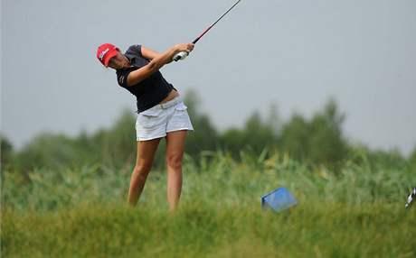 Kateřina Růžičková, trénink na mistrovství Evropy 2010.