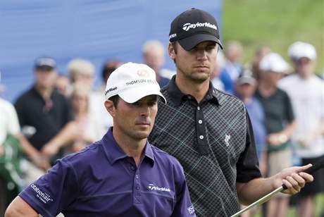 Mike Weir (vlevo) a Sean O´Hair, Canadian Open, 2. kolo