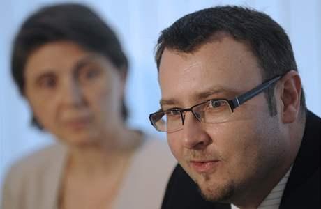 Ministr životního prostředí Pavel Drobil se svou náměstkyní Rut Bízkovou