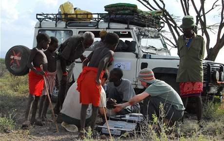 Vakcinační tým v akci