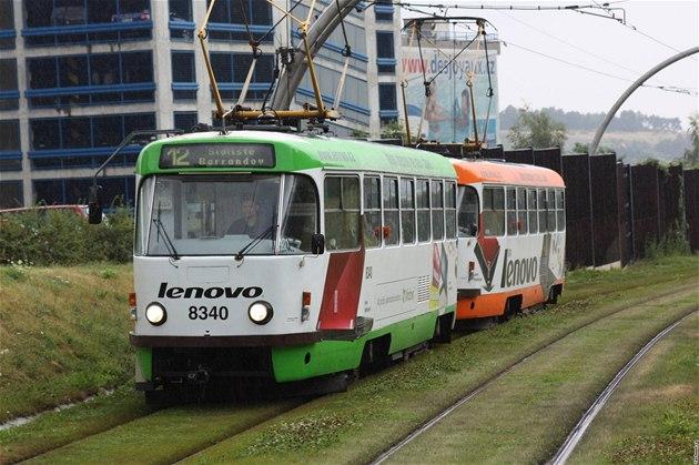 Na pražském smíchově praskla voda, nejezdily tudy tramvaje