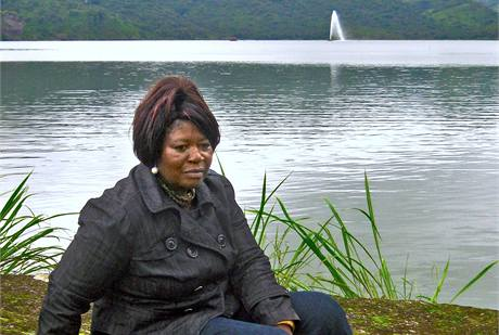 Helen Mbamová se s reportérem MF DNES vypravila na osudné místo, kde v roce 1986 sama téměř zemřela.