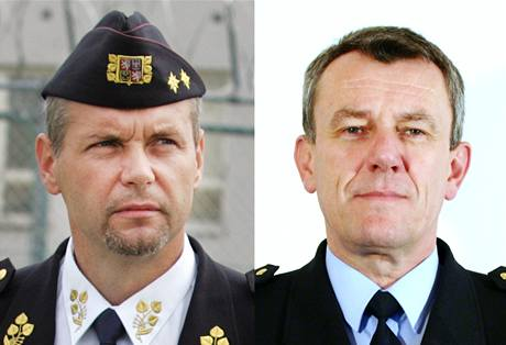Luďka Kulu (vlevo) vystřídá dočasně Jiří Tregler, dosavadní ředitel věznice v Pardubicích.