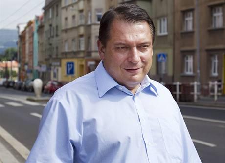 Jiří Paroubek v Ústí nad Labem (20.7.2010)
