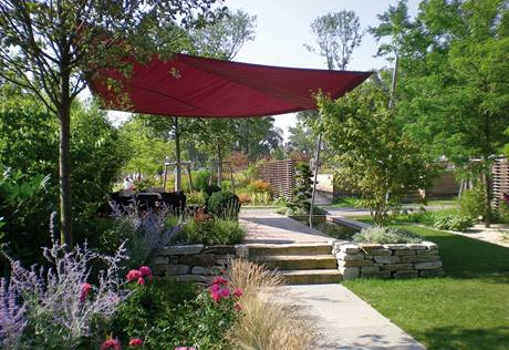 Relaxační zahrada