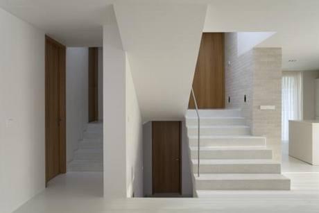 Typická část domu - schodiště