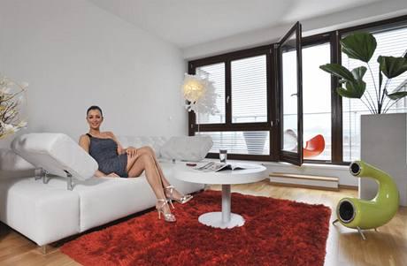 Česká miss ve svém novém bytě