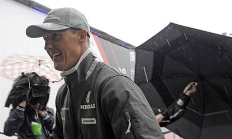 Michael Schumacher před VC Německa