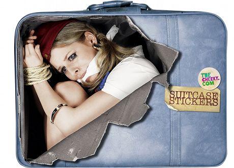 Speciální nálepky na kufry