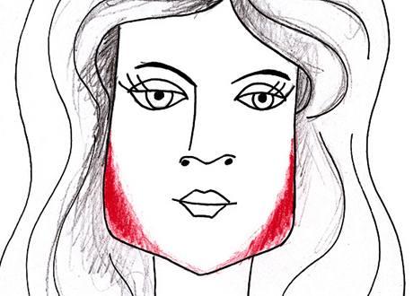 Jak nanášet make-up na obdélníkový obličej