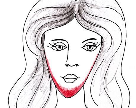 Jak nanášet make-up na trojúhelníkový obličej