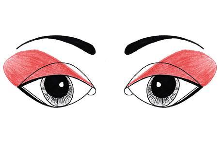 Jak nalíčit kulaté oči
