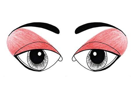 Jak nalíčit oči blízko u sebe