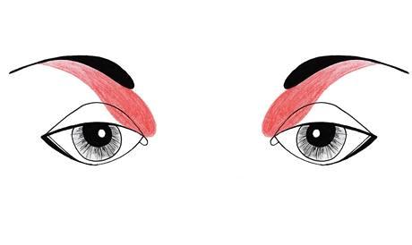 Jak nalíčit oči daleko od sebe