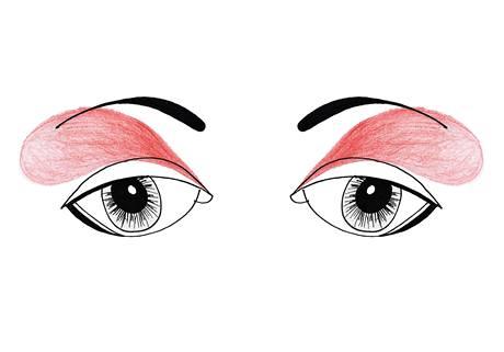 Jak nalíčit zapadlé a malé oči