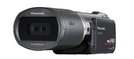 3D videokamera Panasonic HDC-SDT750