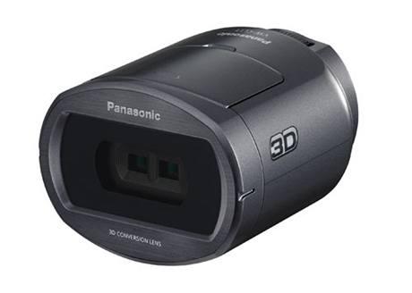 Přídavný 3D objektiv videokamery Panasonic HDC-SDT750