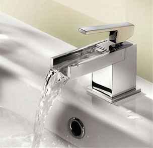 Baterie z kolekce Niagara, Cascata i Equilibrium dodají každé dodají každé koupelně okouzlující nádech přírody.