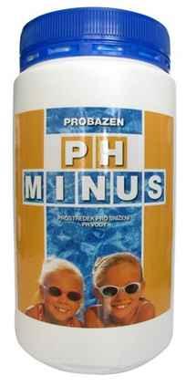 Přípravek pH minus pro bazénovou vodu