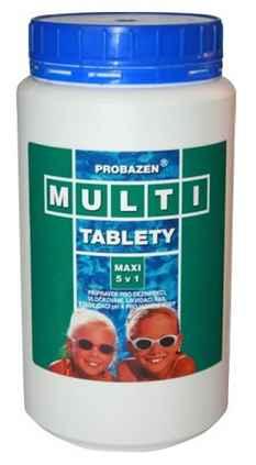 Multi tablety pro vodu v bazénu