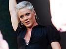 Zpěvačka Pink vystoupila 20. července 2010 v pražském Edenu