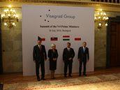 Zahájení jednání Visegrádské čtyřky v Budapešti (20. července 2010)