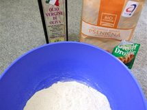 Základní ingredience na těsto