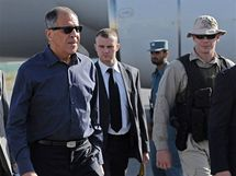Ruský ministr zahraničí Sergej Lavrov v afghánském Kábulu (20. 7. 2010)