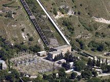 V Baksanské vodní elektrárně vybouchly čtyři nálože (červenec 2010)