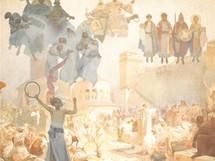 Slovanská epopej: Zavedení slovanské liturgie na Velké Moravě (863-880)