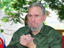 Bývalý kubánský vůdce Fidel Castro poprvé od roku 2006 oficiálně opustil Havanu