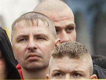 Extremist� demonstruj� za propu�t�n� vraha Pechance (24. �ervence 2010)