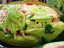 Umění v gastronomii - to je carving