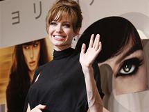 Angelina Jolie na japonské premiéře filmu Salt