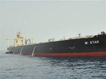 Japonský tanker M Star (29. července 2010)