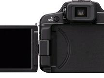 Zadní část fotoaparátu Panasonic Lumix FZ100