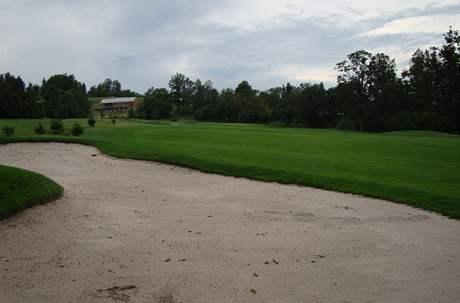 Golfové hřiště Old Course v Čeladné, jamka č. 2.