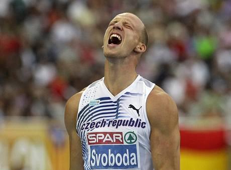 Petr Svoboda v cíli finálového závodu neskrýval zklamání.