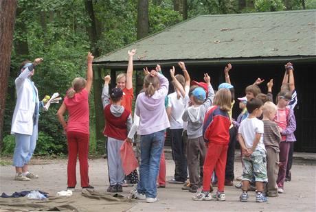 Příměstský tábor v Hodoníně (27.7. 2010)