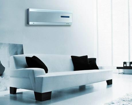 Design současných klimatizací lze sladit s moderním nábytkem