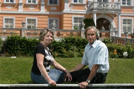 Magda a Petr Ku�erovi koupili z�mek Nov� Hrady p�ed t�in�cti lety
