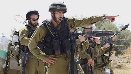 Izraelští vojáci. Ilustrační foto