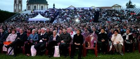 Festival Petra Dvorského v zámecké zahradě v Jaroměřicích nad Rokytnou (7. srpen 2010)
