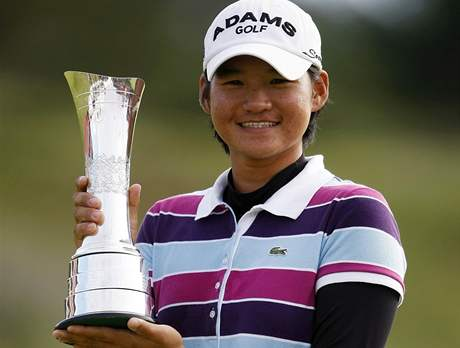 Tseng Ja-ni, vítězka Women´s British Open 2010.