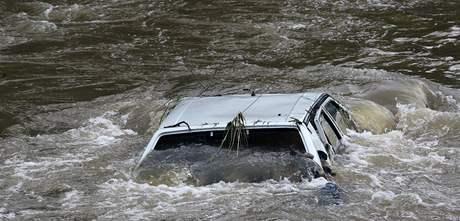 Teprve když voda v Dětřichově opadla, je vidět, jaké škody napáchala