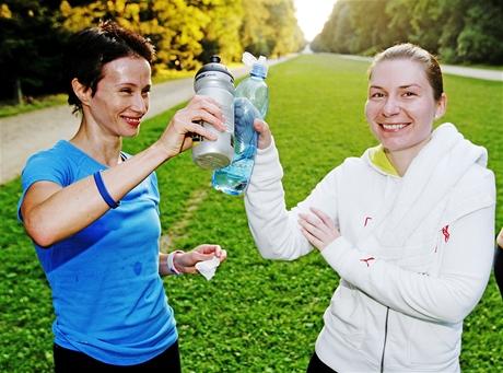 Trénink na maraton v oboře Hvězda - rozřazovací závod a běh na 20km