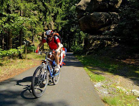 cyklistika ve skalních městech
